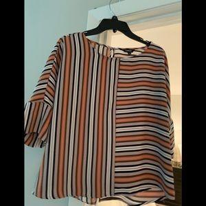 Express striped blouse